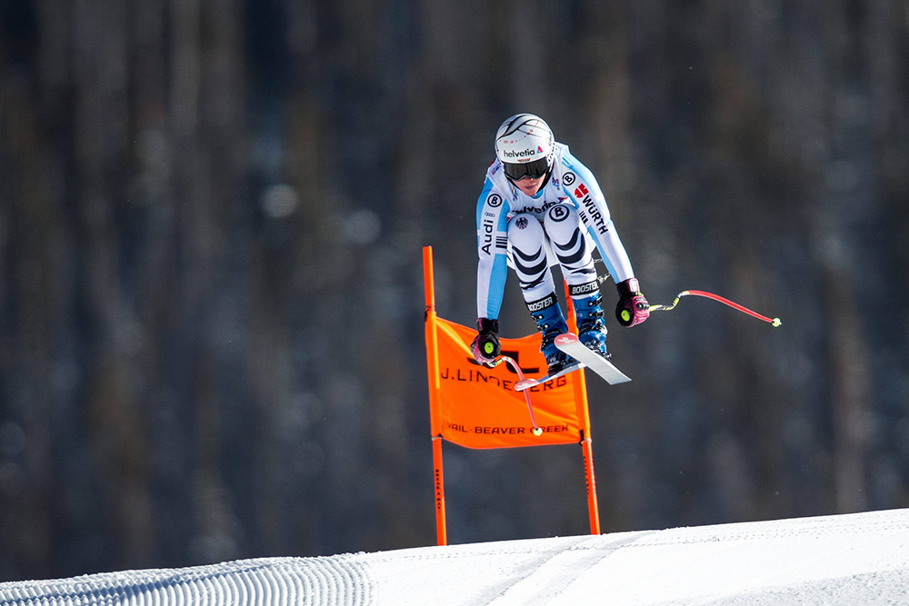 02.02.2015, Raptor Strecke, Beaver Creek, USA, FIS Weltmeisterschaften Ski Alpin, Damen, Abfahrt, 1. Training, Im Bild Viktoria Rebensburg (GER) // Viktoria Rebensburg Of Germany In Action During First Training Run For The Ladie S Downhill Of FIS Ski World Championships 2015 At The Raptor Course In Beaver Creek, United States On 2015/02/02. PUBLICATIONxNOTxINxAUT EX_GRO  02 02 2015 Raptor Route Beaver Creek USA FIS World Championships Ski Alpine Women Departure 1 Training In Picture Viktoria Vine Castle Ger Viktoria Vine Castle Of Germany In Action During First Training Run For The Ladie S Downhill Of FIS Ski World Championships 2015 AT The Raptor Course In Beaver Creek United States ON 2015 02 02 PUBLICATIONxNOTxINxAUT