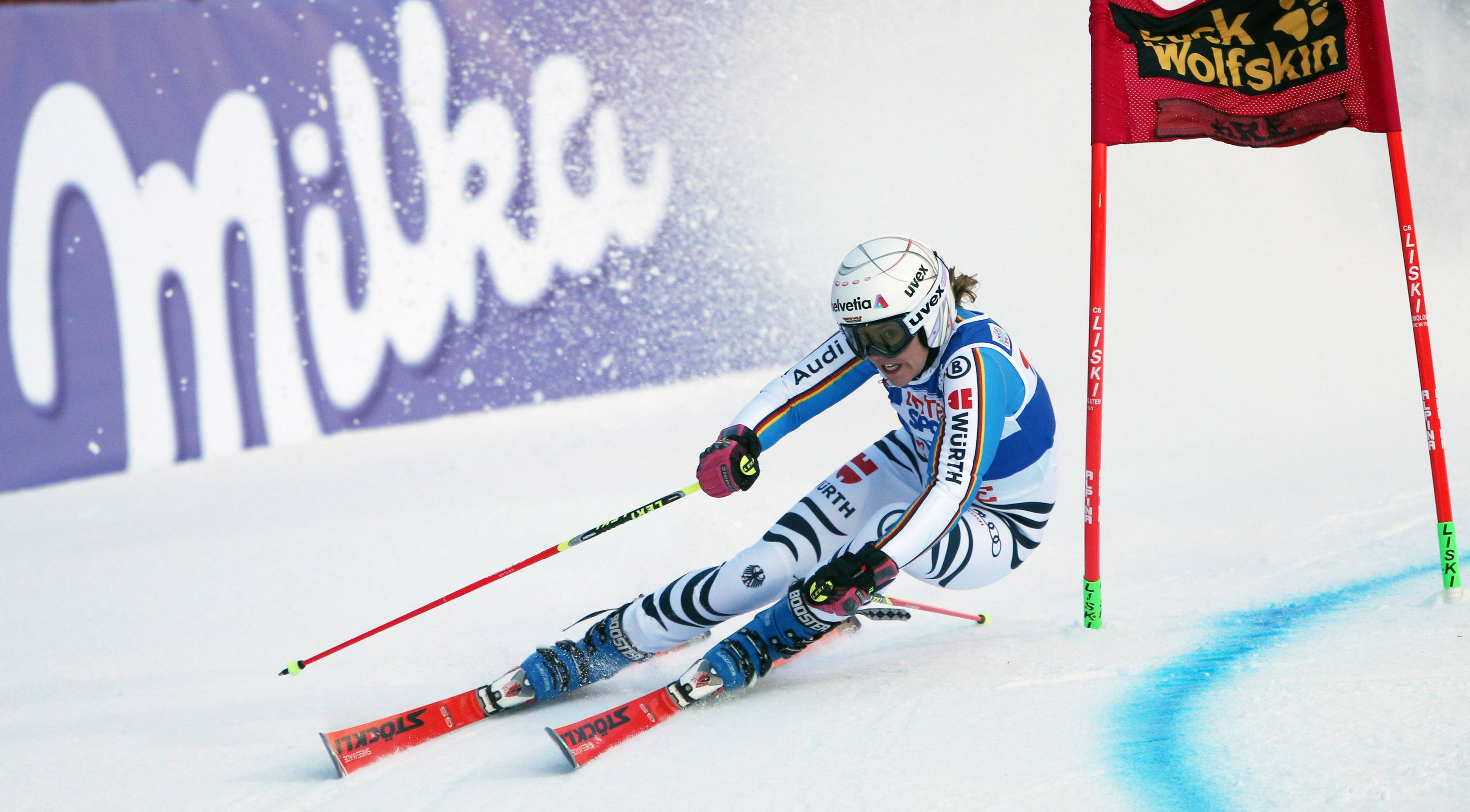 ALPINE SKIING - FIS WC Are AARE,SWEDEN,12.DEC.15 - ALPINE SKIING - FIS World Cup, Giant Slalom, Ladies. Image Shows Viktoria Rebensburg (GER). Keywords: Stoeckli. PUBLICATIONxINxGERxHUNxONLY GEPAxpictures/xThomasxBachun  Alpine Skiing FIS WC Are Aare Sweden 12 DEC 15 Alpine Skiing FIS World Cup Giant Slalom Ladies Image Shows Viktoria Vine Castle Ger Keywords Stoeckli PUBLICATIONxINxGERxHUNxONLY GEPAxpictures XThomasxBachun