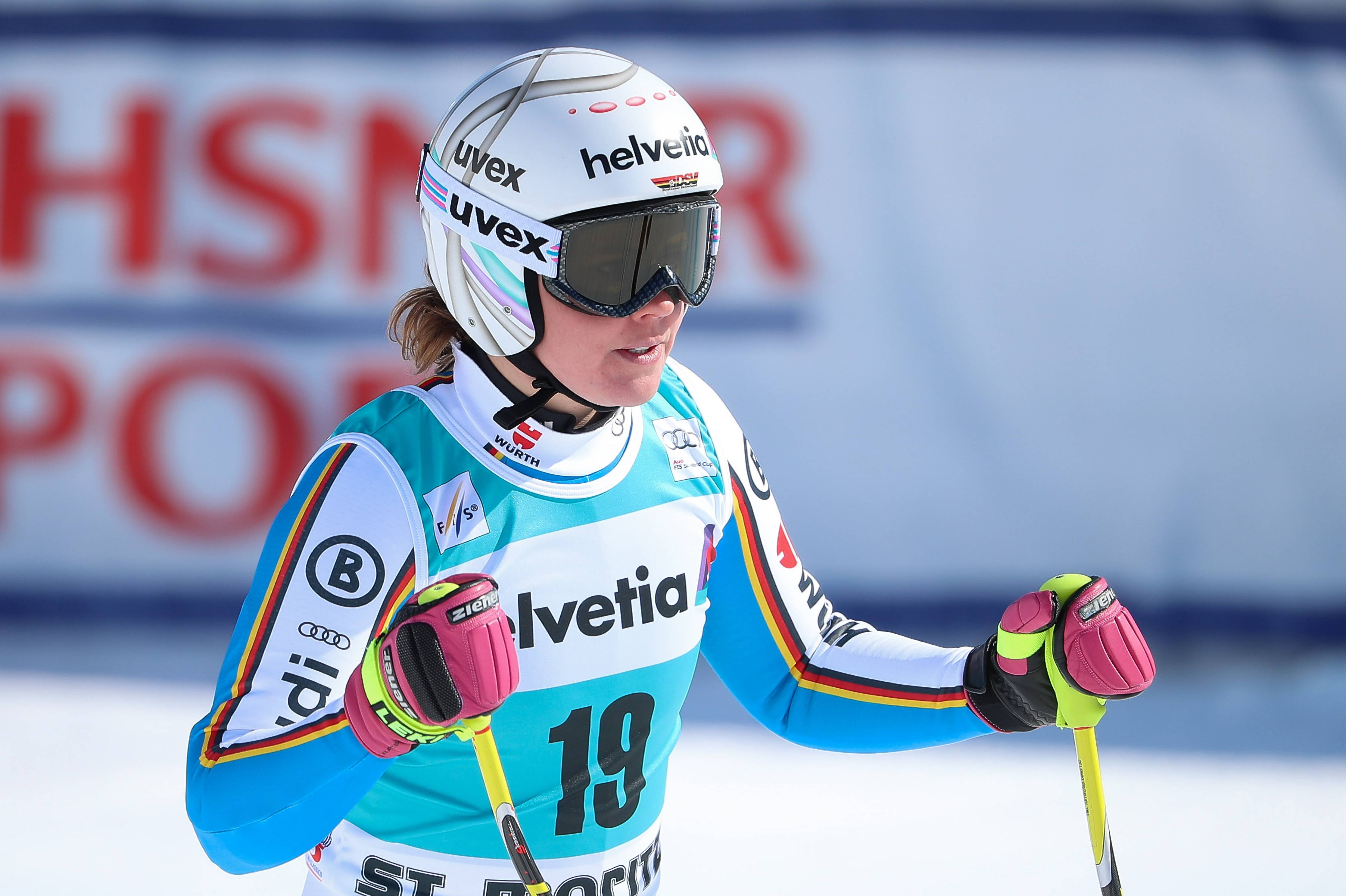 St. Moritz: 6th Place In The Super-G