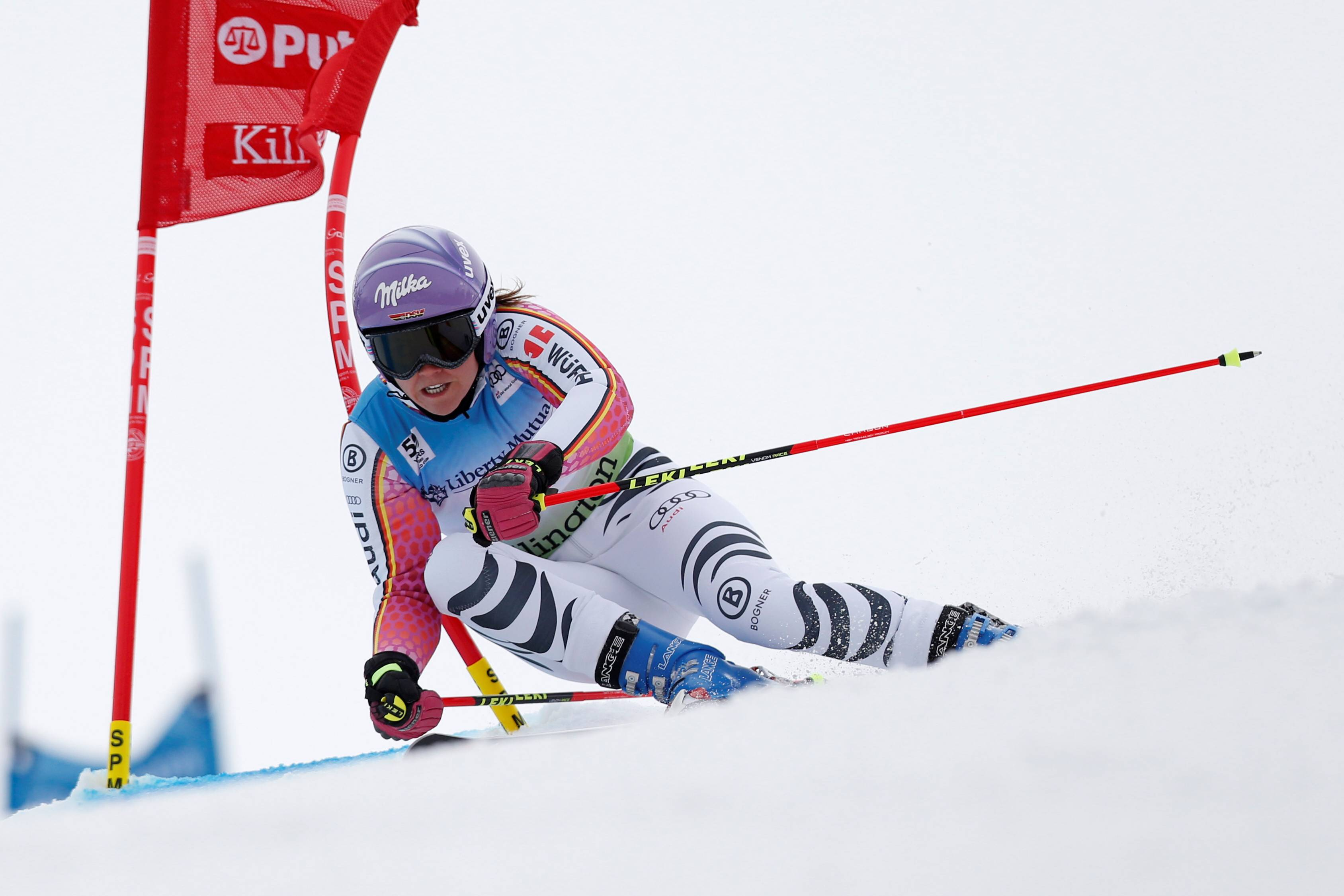 ALPINE SKIING - FIS WC Killington KILLINGTON,VERMONT,USA,26.NOV.16 - ALPINE SKIING - FIS World Cup Killington, Giant Slalom, Ladies. Image Shows Viktoria Rebensburg (GER). Keywords: Stoeckli PUBLICATIONxINxGERxHUNxONLY GEPAxpictures/xGregxM.xCooper  Alpine Skiing FIS WC   Vermont USA 26 Nov 16 Alpine Skiing FIS World Cup  Giant Slalom Ladies Image Shows Viktoria Vine Castle Ger Keywords Stoeckli PUBLICATIONxINxGERxHUNxONLY GEPAxpictures
